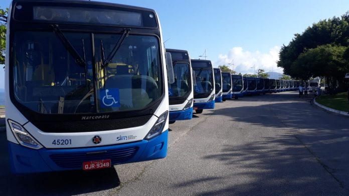 ônibus transporte coletivo Consórcio Fênix